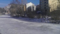 Çoruh Nehri Buz Tuttu