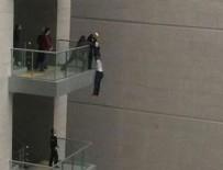 ÇAĞLAYAN ADLİYESİ - İstanbul Adalet Sarayı'nda intihar girişimi