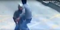 KARATE - Karateci Kamyon Şoförü Motosikletteki Hırsıza Böyle Uçtu