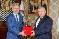 HEREKE - Körfez'in Kardeş Şehir Yalova Kaytazdere Belediye Başkanı Ali Kangal, Başkan Baran'ı Ziyaret Etti