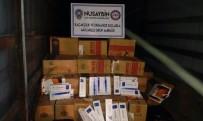 Nusaybin'de 514 Bin TL'lik Kaçak Sigara Ele Geçirildi