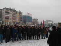 ÜLKÜCÜLER - 'Teröre Lanet Türk Polisine Destek' Yürüyüşü Düzenlendi
