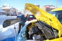 Tunceli'de Sürücülerin Soğukla İmtihanı