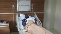 KASIK FITIĞI - Alanyaspor'lu Sackey Ameliyat Oldu