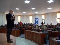 YAT LİMANI - Başkan Akgün, Üniversite Öğrencilerine Kent Yönetimini Anlattı