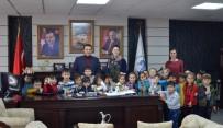 ÇOCUK OYUNLARI - Başkan Bakıcı'ya Minik Tiyatro Severlerden Teşekkür Ziyareti