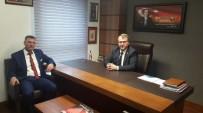 VEZIRHAN - Başkan Duymuş Milletvekili Eldemir'i Ziyaret Etti