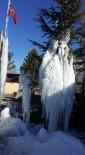YEŞILDAĞ - Beyşehir'de Ağaçlar Buz Tuttu