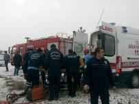 Buzlanma Kazayı Beraberinde Getirdi Açıklaması 2 Yaralı