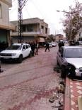 POLİS ARACI - Kadirli'de Polis Aracı Kaza Yaptı Açıklaması 2 Yaralı