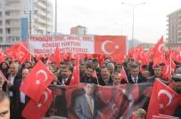 Kaymakamın Şehit Edildiği Derik'te PKK'ya Sert Tepki