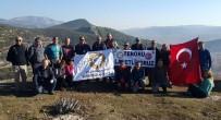 KANYON - Milas'ta Dağcılar Teröre Zirvede Tepki Göterdi