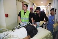 Milas'ta Hastanede Su Baskını Tatbikatı Yapıldı