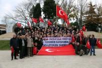MUHTARLAR KONFEDERASYONU - Ordulu Muhtarlardan Teröre Tepki Yürüyüşü