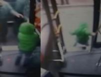 BELEDIYE OTOBÜSÜ - İETT şoförünün ihmali 6 yaşındaki Serap'ın bacağına mal oldu