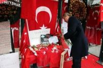 ŞEKER FABRİKASI - Pancar Ekicileri Kooperatifi Yönetimi, Şehit Komandolar Durağı'nı Ziyaret Etti