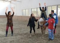 ZİHİNSEL ENGELLİLER - Selçuk'ta Atlı Terapi Binicilik Antrenörleri Yetiştiriliyor