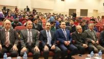TÜRK TARIH KURUMU - Türk Tarih Kurumu Başkanı Turan, ERÜ'de Konferans Verdi