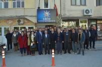 NECDET ÜNÜVAR - Ünüvar, Karataş'ta İlçe Teşkilatı İle Buluştu