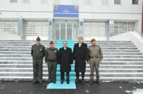 Vali Tapsız'dan İl Jandarma Komutanlığına Taziye Ziyareti