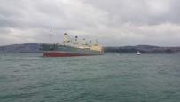 PANAMA - Yük Gemisi Boğaz'da Yalılara Metreler Kala Karaya Oturdu