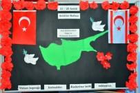 GIRNE - Amerikan Koleji'nden Şehitleri Anma Haftasında Anlamlı Etkinlik