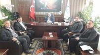 Başkan Koçak Ve Aktürk'ten SGK'ya Ziyaret