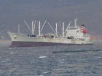 PANAMA - Çeşme'de Karaya Oturan Gemi Henüz Kurtarılamadı