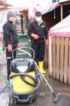 FATİH BELEDİYESİ - Fatih Belediyesi Yedikule Hayvan Barınağı Temizlik Seferberliği