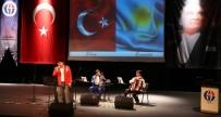 TÜRKISTAN - GAÜN'de Kazakistan Müzik Grubundan Konser