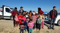 İmam Hatip Öğrencilerinden Suriyelilere Yardım