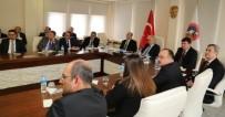 TRAFİK GÜVENLİĞİ - Karayolu Trafik Güvenliği İl Koordinasyon Kurulu Vali Kamçı Başkanlığında Toplandı