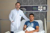 MENİSKÜS - Medicana'da Kapalı Yöntemle Menisküs Ameliyatı Oldu