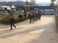 Milas'ta FETÖ Zanlılarına Tutuklama