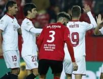 SEVILLA - Sevilla'dan gol yağmuru
