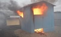 YURT YANGINI - Yanmaz İnşaat Levhası, Yangını Hapsedecek
