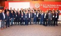 KULÜPLER BİRLİĞİ - 2. Ve 3. Lig Kulüpler Birliği'nin Başkanı Cengiz Günaydın Oldu