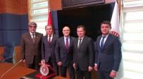 YUKARı KARABAĞ - Altunyaldız, Azerbaycan Milli Meclis Başkan Vekili Valeh Aleskerov İle Bir Araya Geldi.