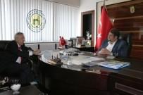 ERDAL İNÖNÜ - Ayhan Gazeteci-Yazar Yavuz Donat'ı Ağırladı