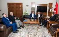 METİN YÜKSEL - BEM-BİR-SEN Heyetinden Vali İbrahim Taşyapan'a Ziyaret