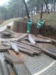 ONARIM ÇALIŞMASI - Ekopark'ta Bakım Onarım Çalışmaları Devam Ediyor