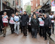 POLİS MÜDAHALE - KESK Yürüyüşüne İzmit'te Polis Müdahalesi