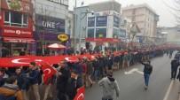 TERÖRE LANET - Lise Öğrencilerden Teröre Lanet Yürüyüşü