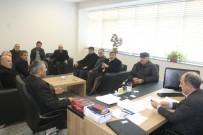 MEHMET YAŞAR - Muhtarlardan Genel Sekreter Yaşar'a Ziyaret