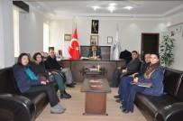 Öğretmenlerden Başkan Ünlü'ye Ziyaret
