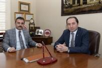 Rektör Alkan'dan Başkan Külcü'ye Teşekkür Ziyareti