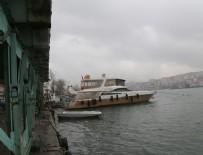 GALATA KÖPRÜSÜ - Tarihi Galata Köprüsü kaldırıldı