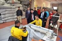 Vali Arslantaş, Türk Kızılay'ını Ziyaret Etti
