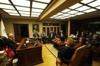 AHMET ŞİMŞEK - Yaşar, YMD'nin Yeni Yönetimini Ağırladı