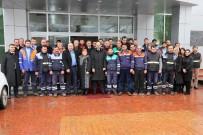 HÜSEYIN AYAZ - Başkan Ayaz, Belediye Personeliyle Buluştu